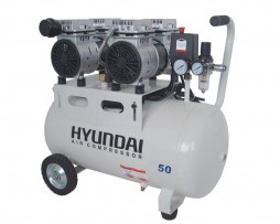 کمپرسور باد 50 لیتری سایلنت هیوندای مدل 1550-AC