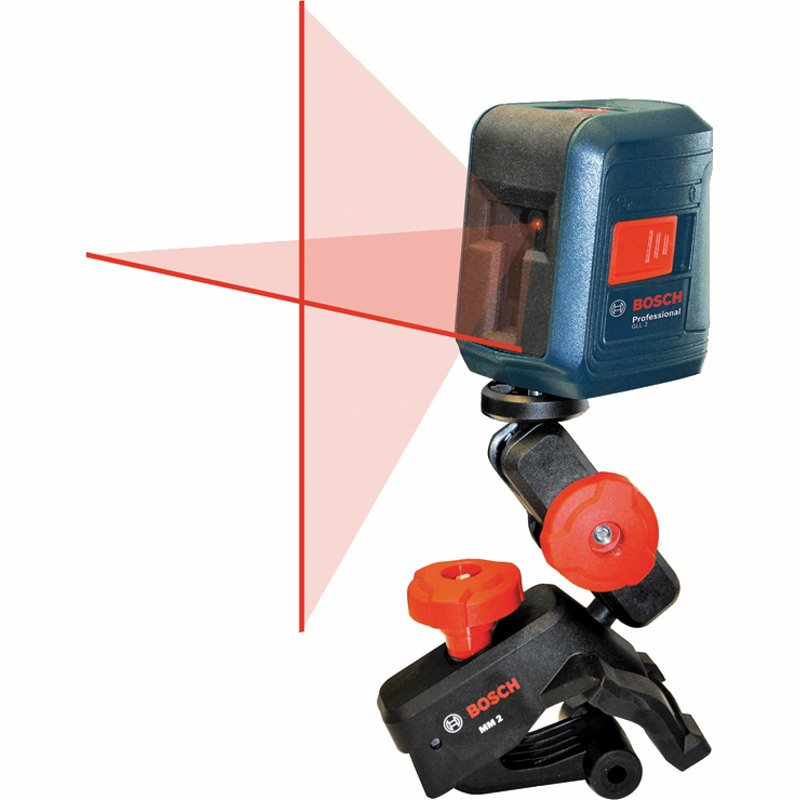 تراز لیزری خطی بوش مدل GLL2 | Bosch Self-leveling Cross-line Laser Model GLL2