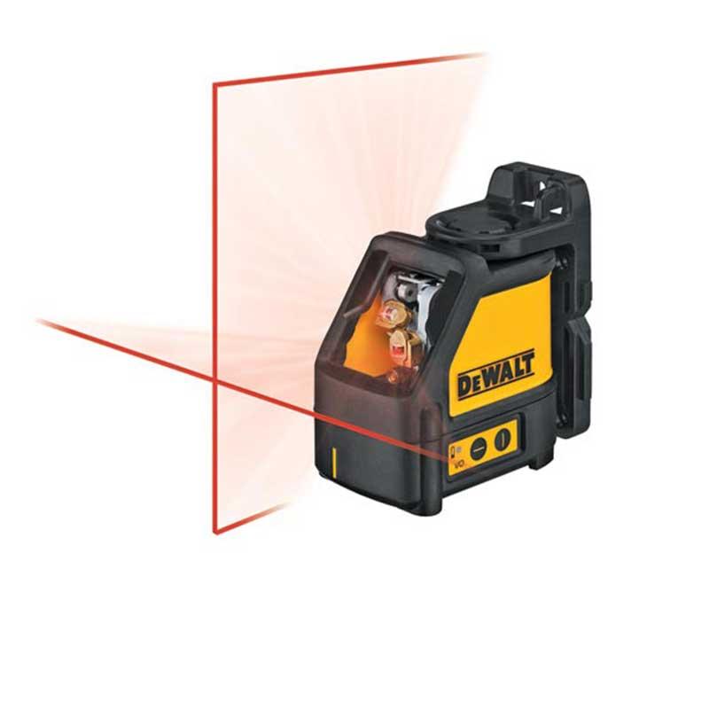 خط تراز اتوماتيک افقي-عمودي ديوالت مدل DW088K | Dewalt DW088K Way Self-Levelling Line Laser Horizontal And Vertical Laser Level