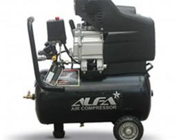 کمپرسور باد 24 لیتری آلفا مدل C24L-A