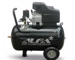 کمپرسور باد 80 لیتری آلفا مدل C80L-A