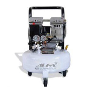 کمپرسور باد 16 لیتری بی صدا آلفا مدل SC16L-A