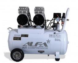 کمپرسور باد 50 لیتری بی صدا آلفا مدل SC50L-A
