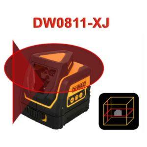 تراز لیـزری گردان خطی(360 درجه + تک شعاع عمودی) دیوالت مدل DW0811-XJ