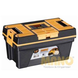 جعبه ابزار مانو سایز 15 اینچ مدل YN15