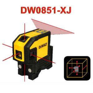 تراز لیـزری یک خط و 5 نقطه دیوالت مدل DW0851-XJ