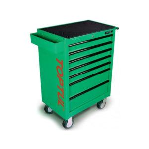 جعبه ابزار 7 کشو چرخ دار 227 پارچه تاپ تول TOPTUL مدل GCAJ0001