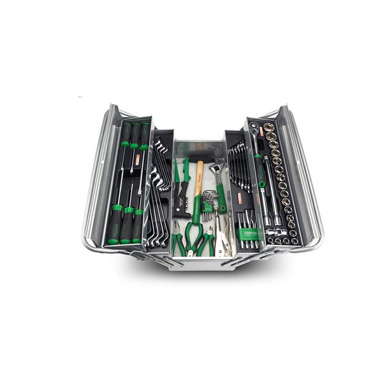 جعبه ابزار کامل کارگاهی قابل حمل تاپ تول TOPTUL مدل GCAZ0021 |