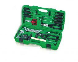 جعبه ابزار 30 پارچه پلاستیکی خانگی تاپ تول TOPTUL
