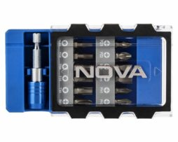 ست 13 عددی سری پیچ گوشتی سر دریلی نووا مدل NTS-1325
