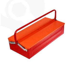 جعبه ابزار فلزی یک طبقه 36 سانت ایران پتک مدل TG 1012