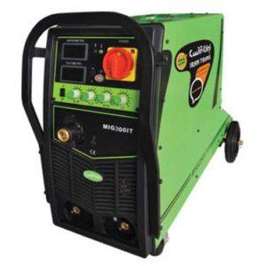 دستگاه جوش اینورتر میگ مگ و الکترود 300 آمپر ایران ترانس مدل MIG 300 IT