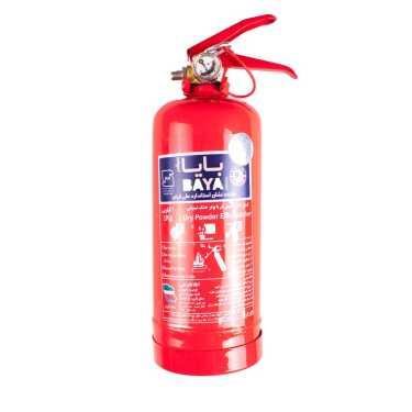 کپسول آتش نشانی 1 کیلویی پودر خشک شیمیایی بایا