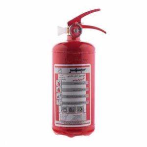 کپسول آتش نشانی دو کیلوگرمی سپهر