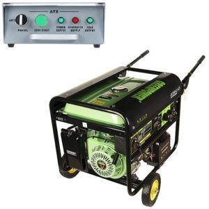 موتور برق بنزینی اتوماتیک گرین پاور مدل GR7500-AT